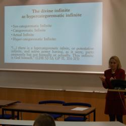 Beierwaltes Lecture - Prof. Maria Rosa Antognazza: God, Creatures, and Neoplatonism in Leibniz
